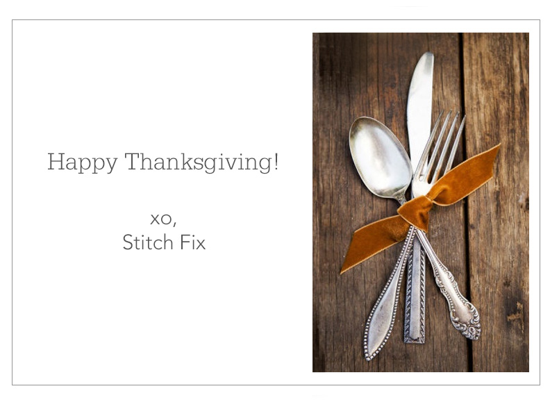 Thanksgiving Stitch Fix