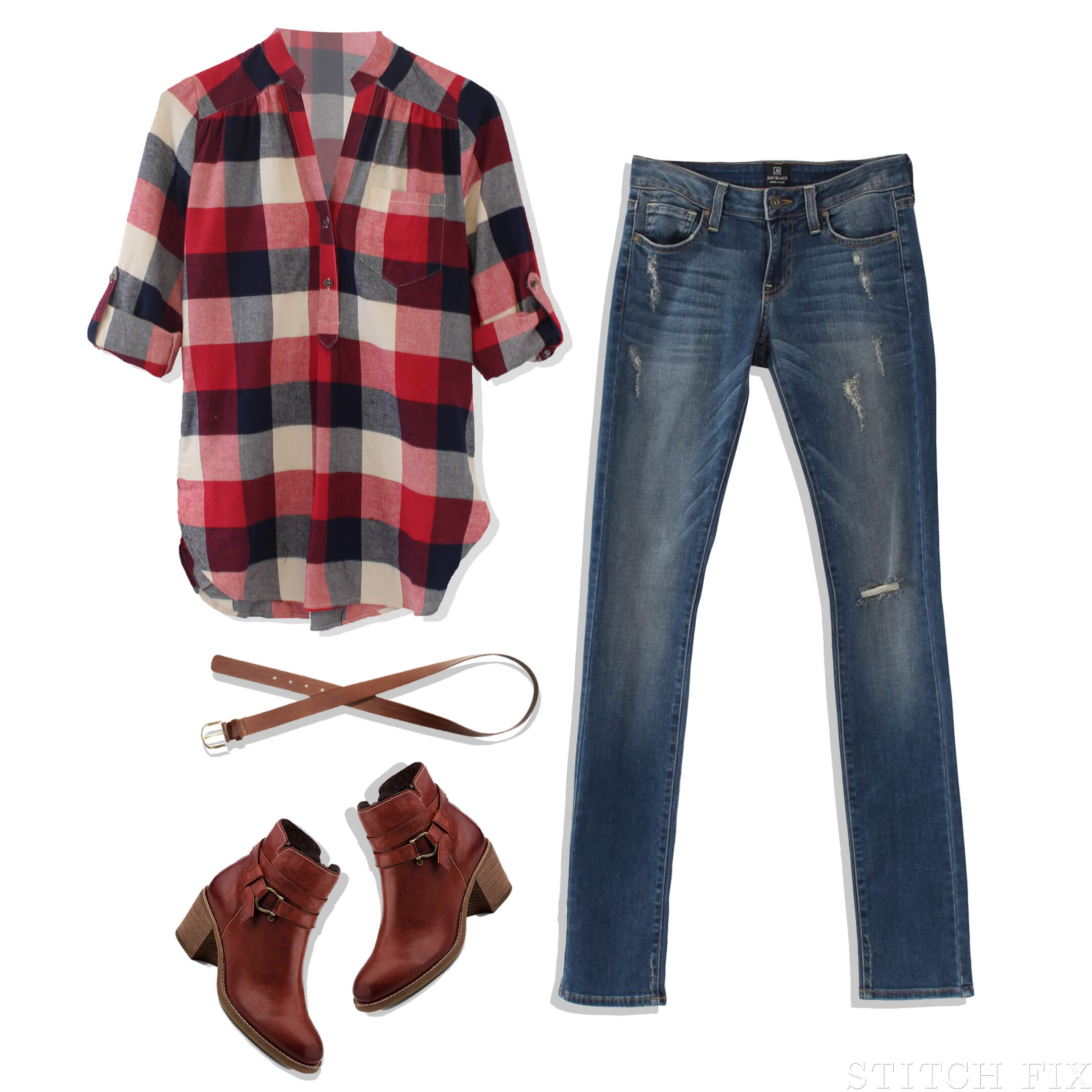 Simply Chic Plaid