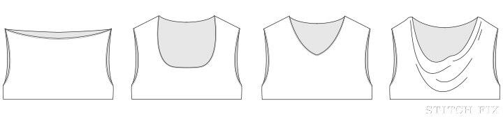 New D cup neckline
