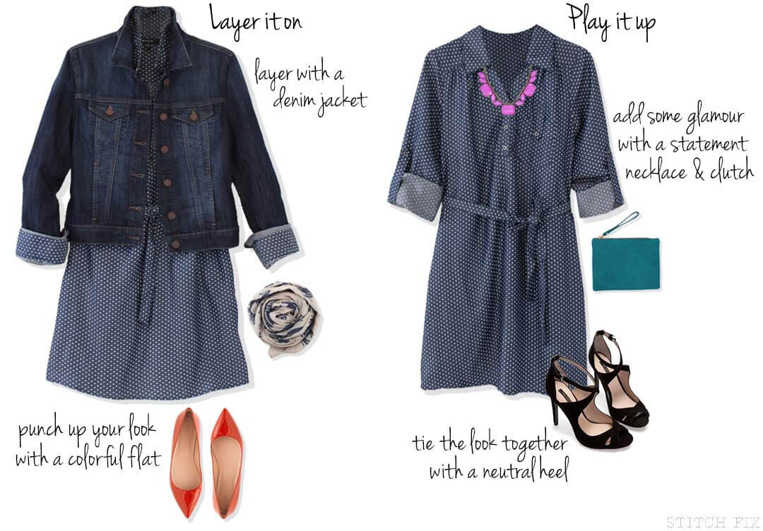 Styling Chambray dress