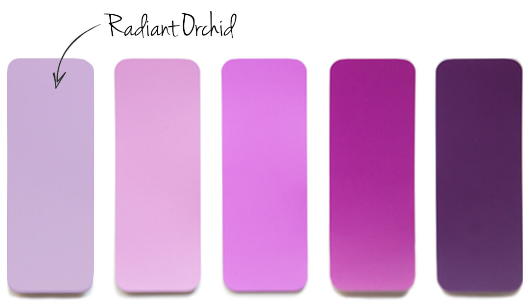 Radiant Orchid Color