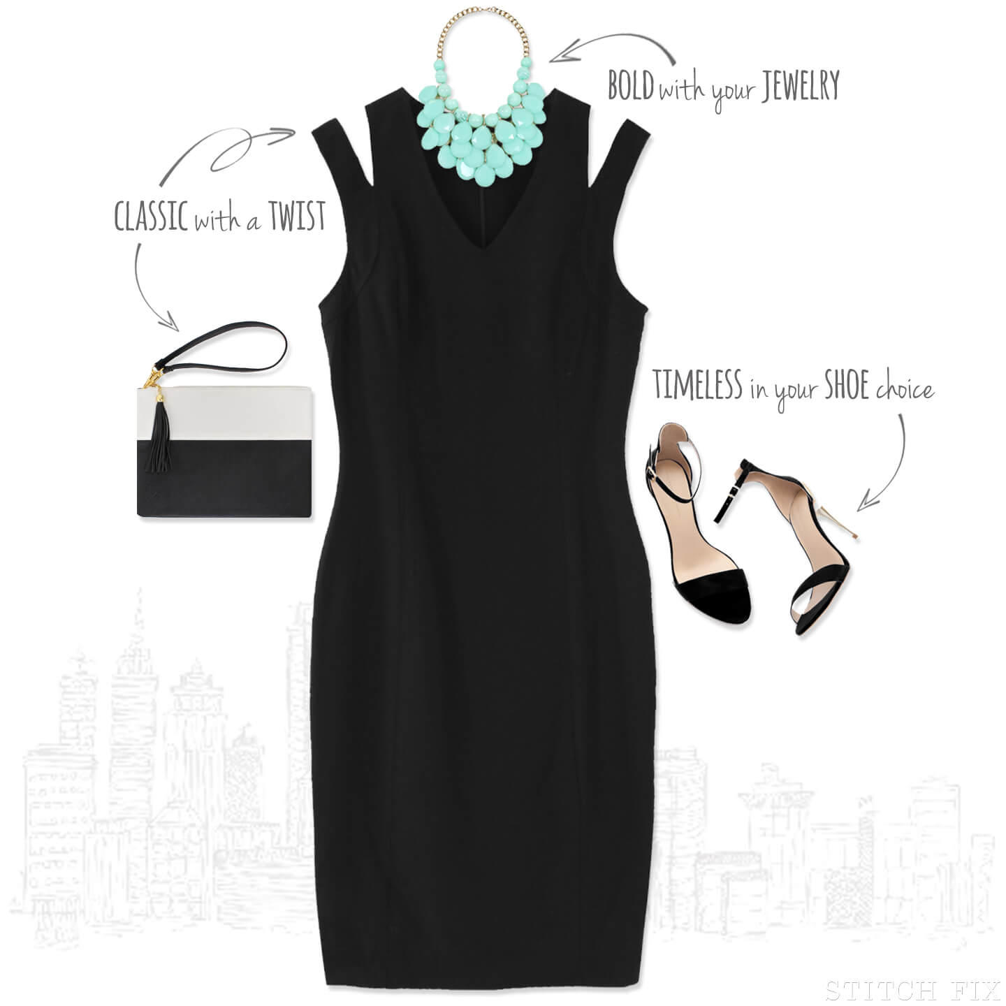 1 dress 3 ways, wedding (Black Tie)