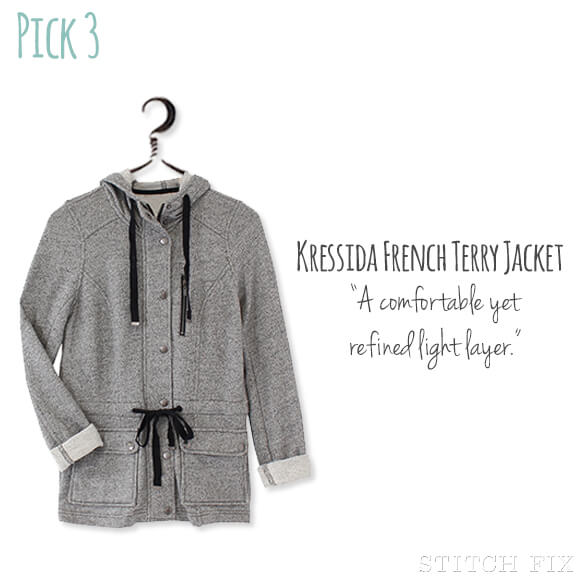 3 Kressida French Terry Jacket