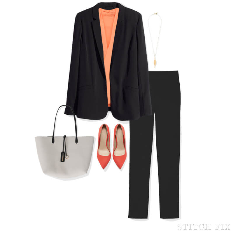 Summer Suit look 1