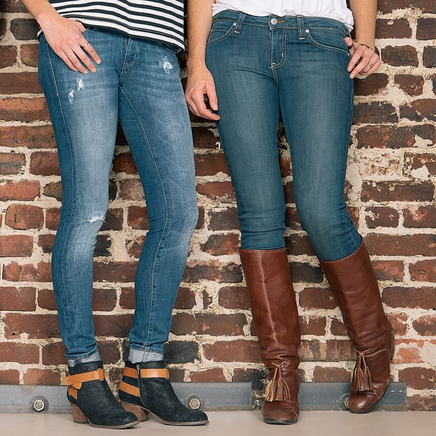 What Shoes to Wear With Bootcut Jeans What Shoes to Wear With Skinny