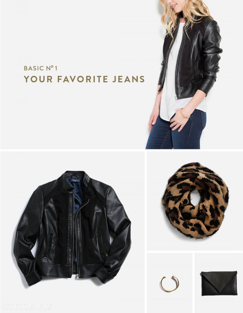 How to Style your Favorite Jeans with a Moto Jacket!