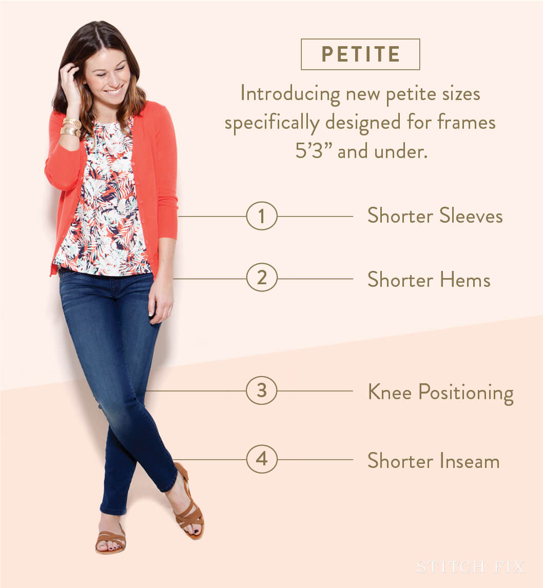 A Guide To Petite Sizes At Stitch Fix