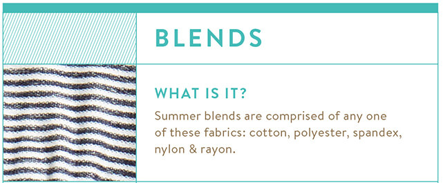 Breathable Summer Fabrics Guide: Blends