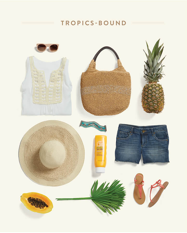 How to dress for a tropical vacation