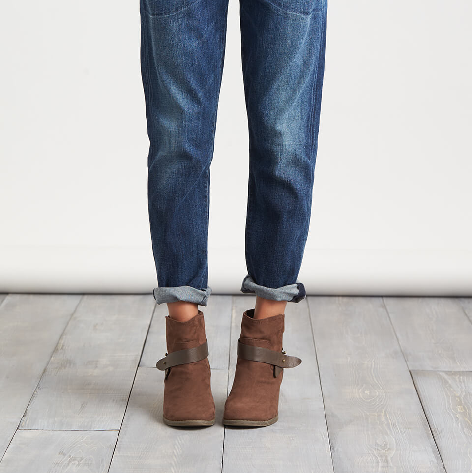 Booties With Bootcut Jeans