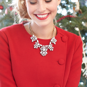 Festive Attire. We've all read those two words slowly on a holiday party invite—out loud to ourselves—and been utterly confused. We break down the 5 rules of holiday party dressing, so you never show up under (or over!) dressed again.