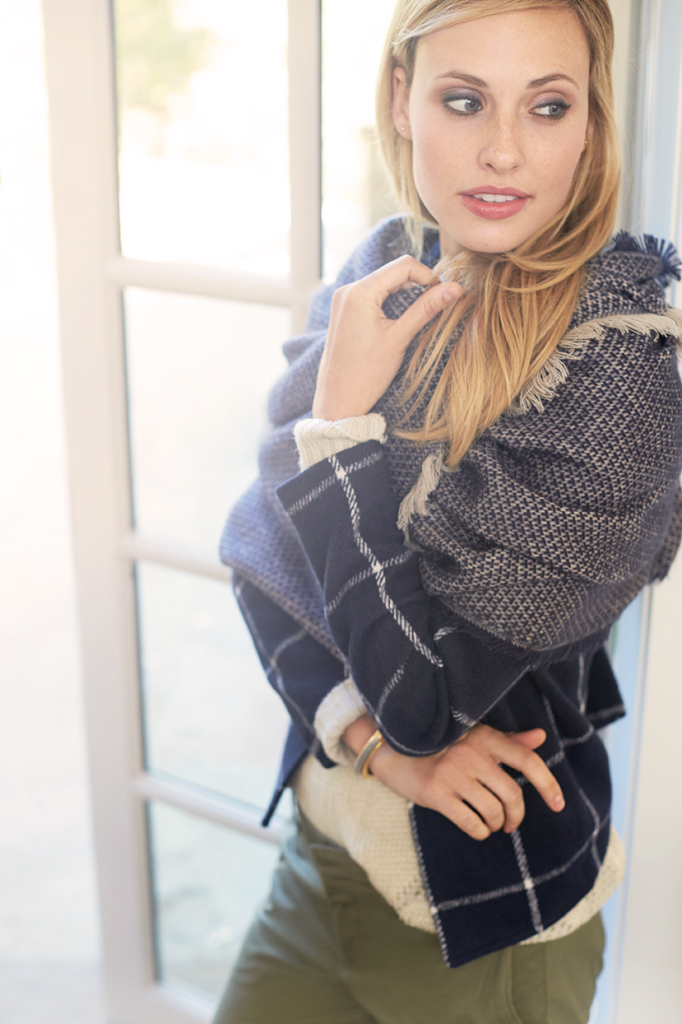 Learn how to wear the new layers of winter.
