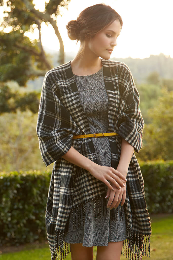 What's a ruana anyways? We show you how to style this delightful new layer.