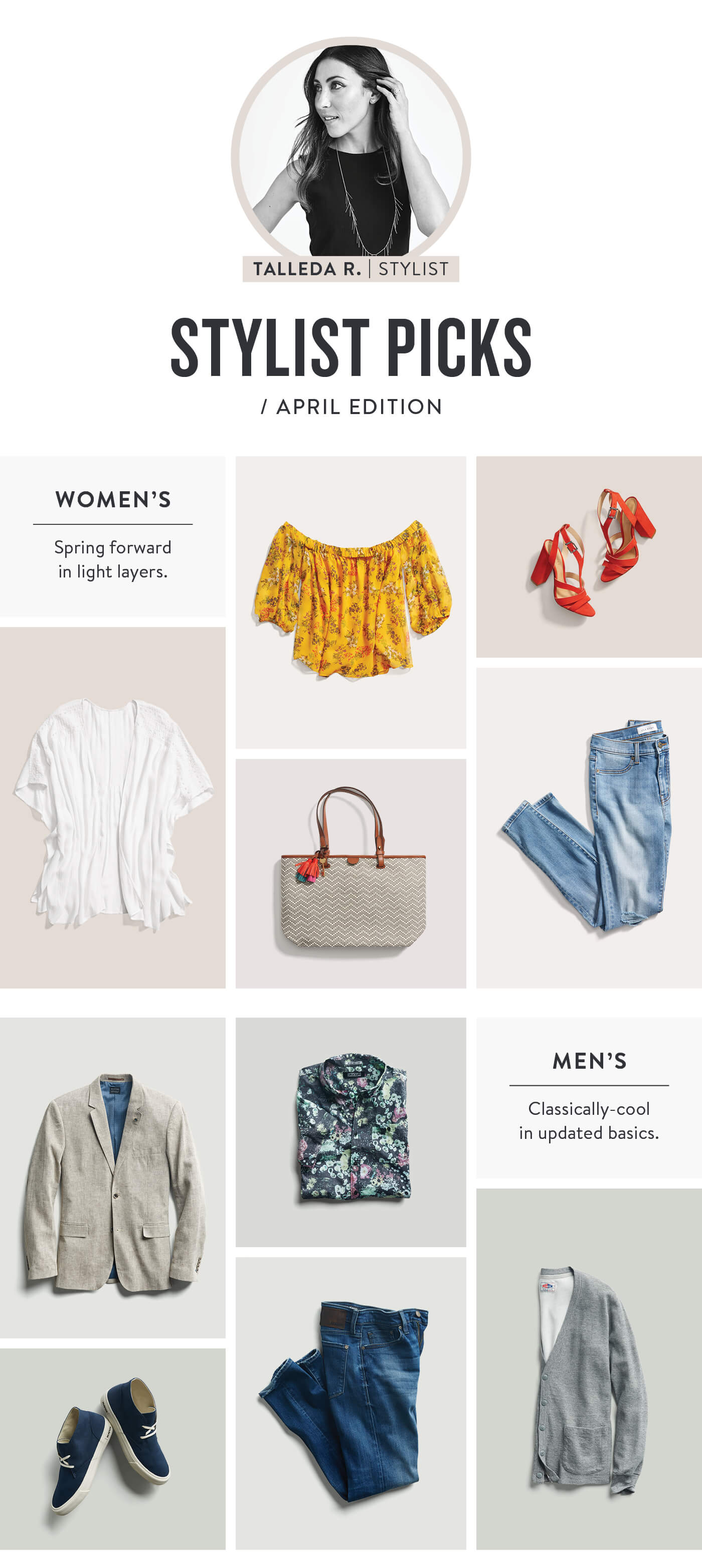 Stitch Fix April Stylist Picks