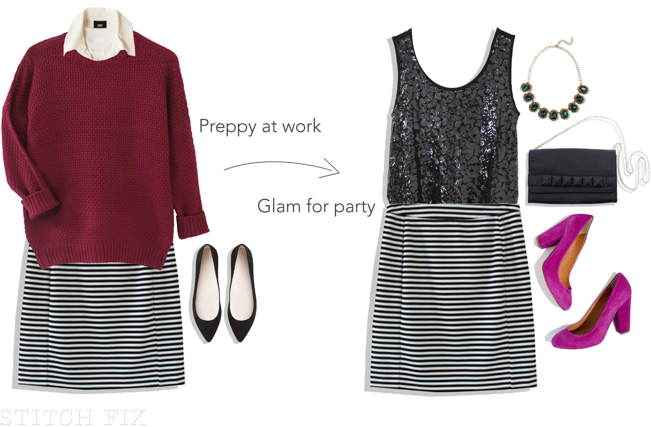 Office Holiday skirt