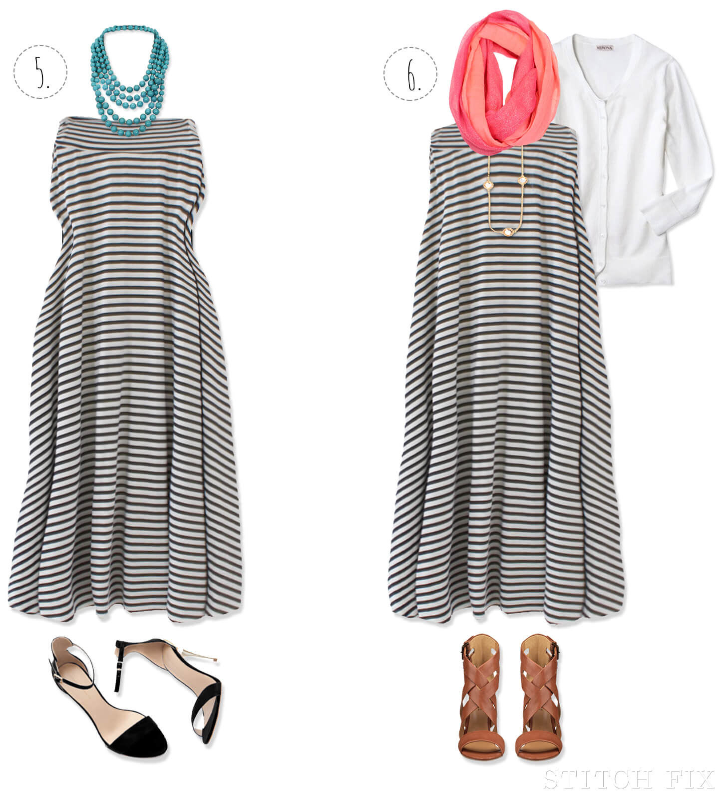 Special occasion maxi skirt as a dress