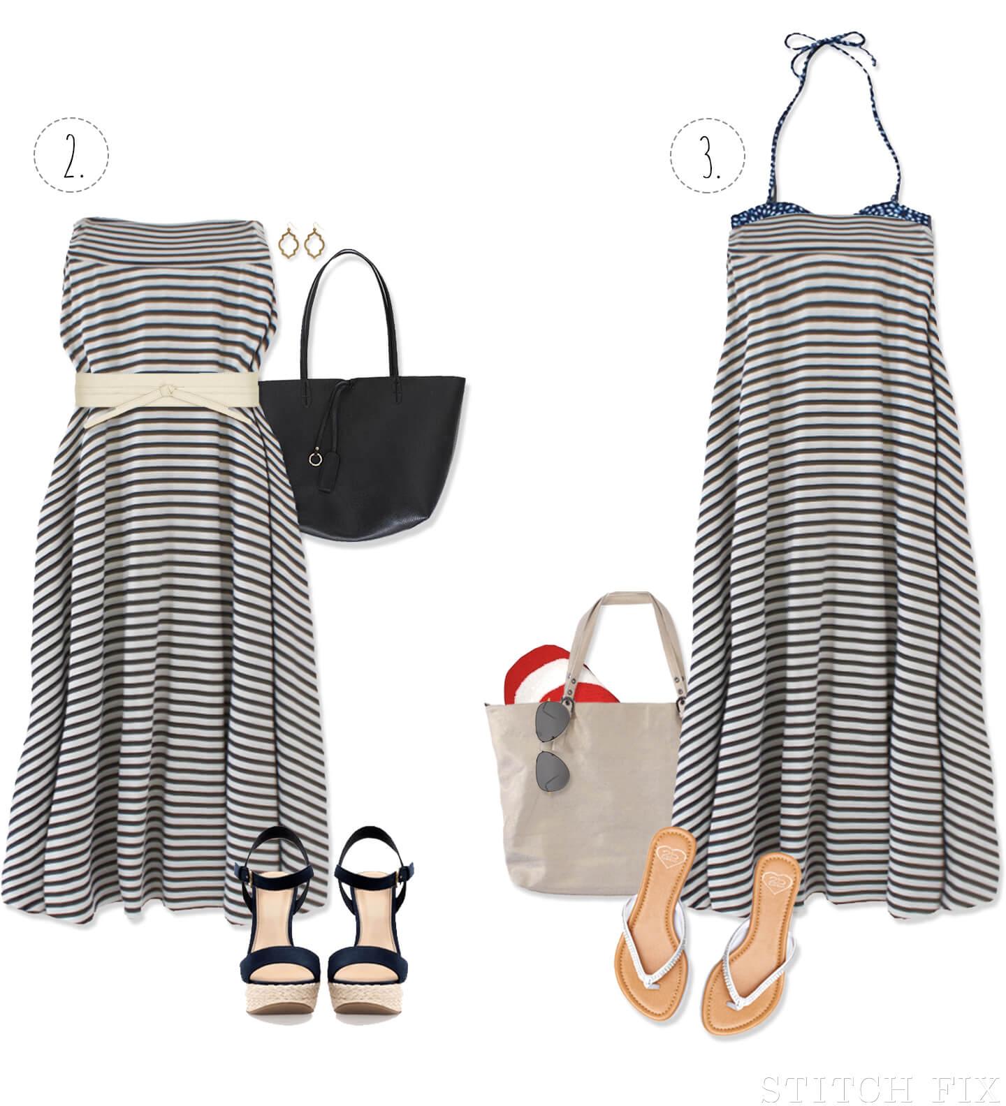 0e7510bb83 One Maxi Skirt Styled 6 Ways   Stitch Fix Style