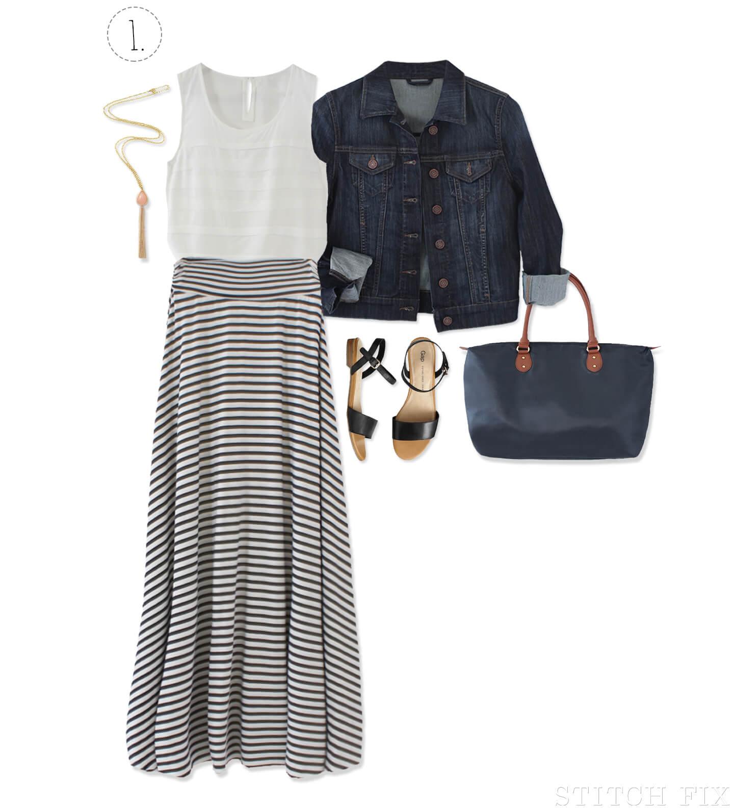 The Weekend Getaway Maxi Skirt