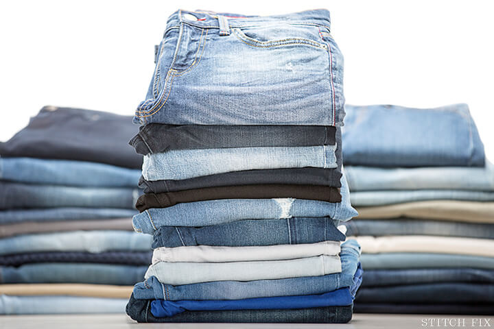 Stitch Fix Jeans Stack