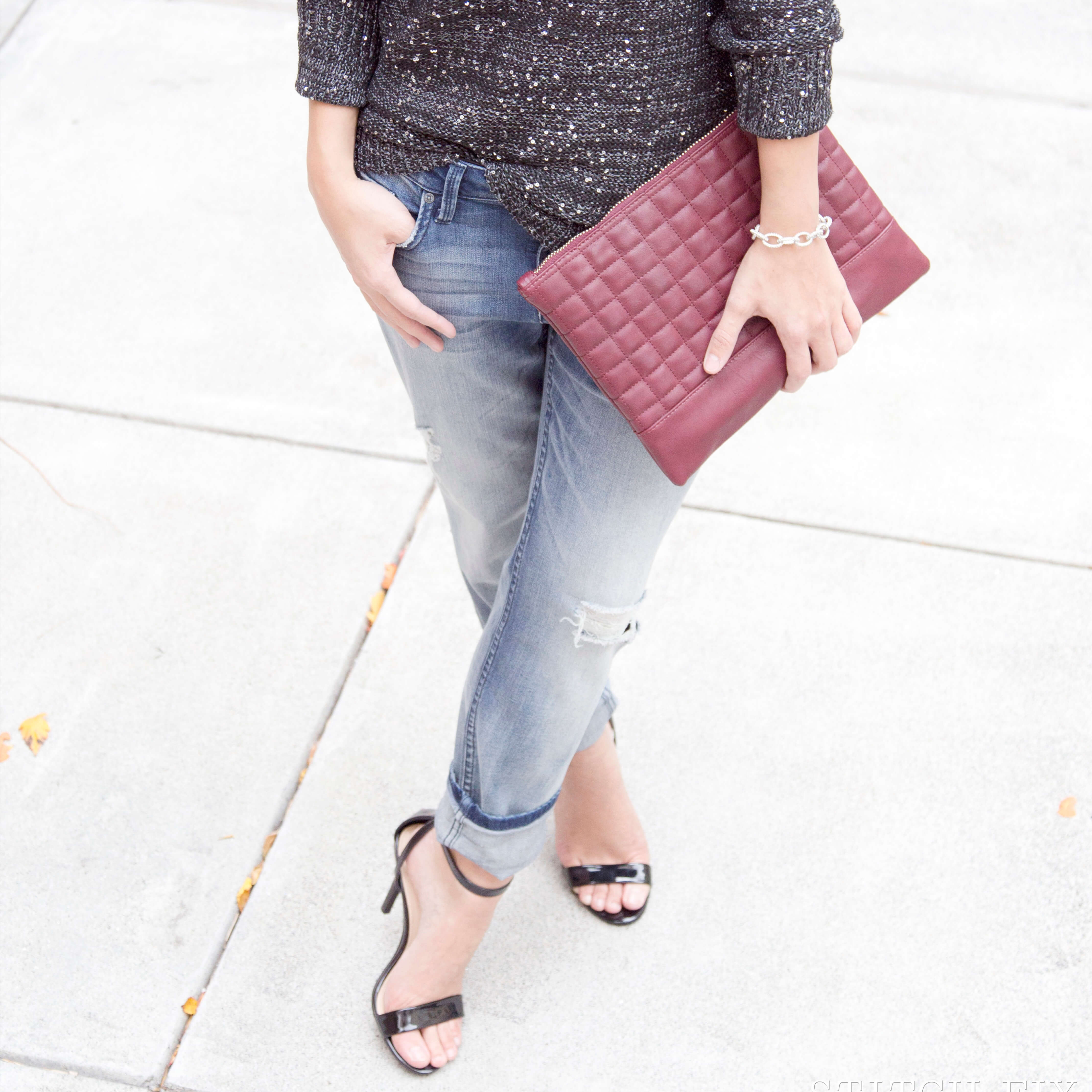 Shoes with Boyfriend Jeans