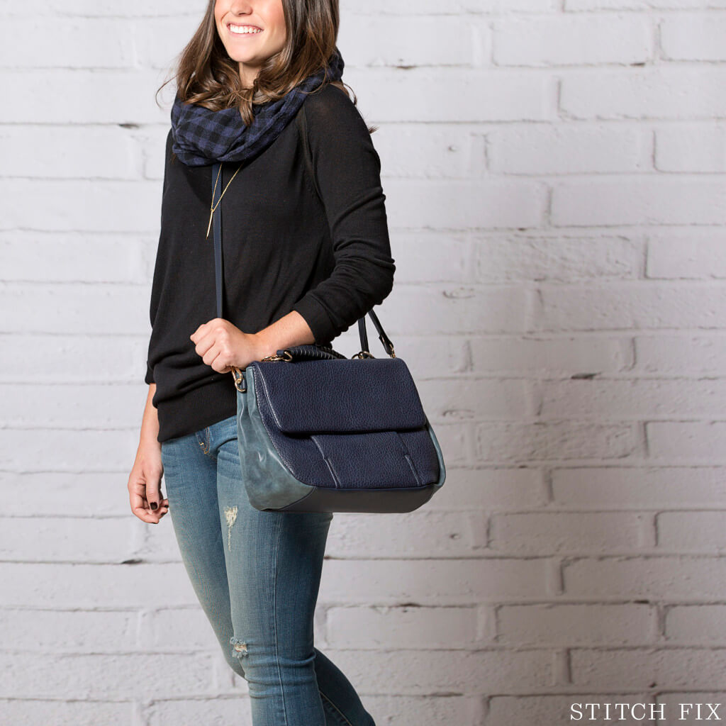 How To Wear Black and Navy, Casual Look
