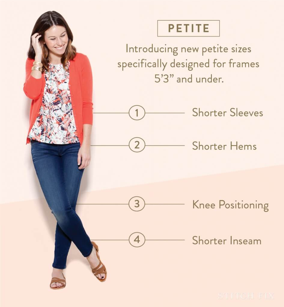 A Guide to Petite Sizing at Stitch Fix