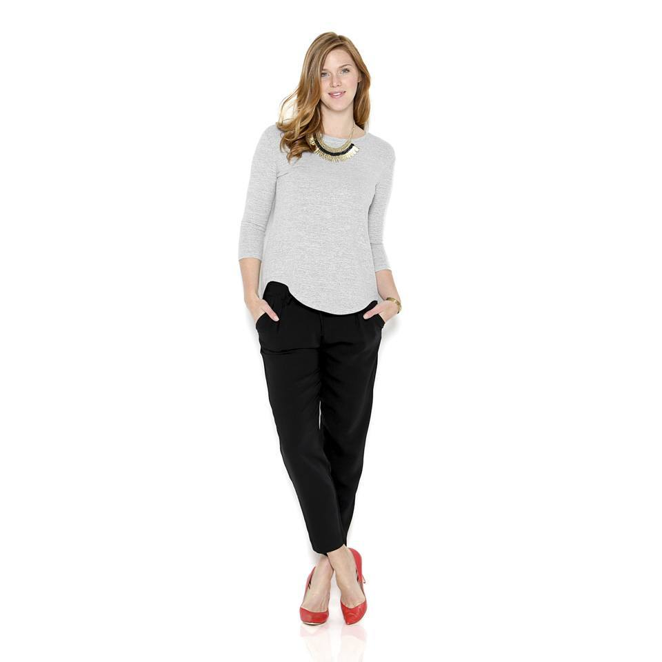 Cropped Pants in Fall and Winter