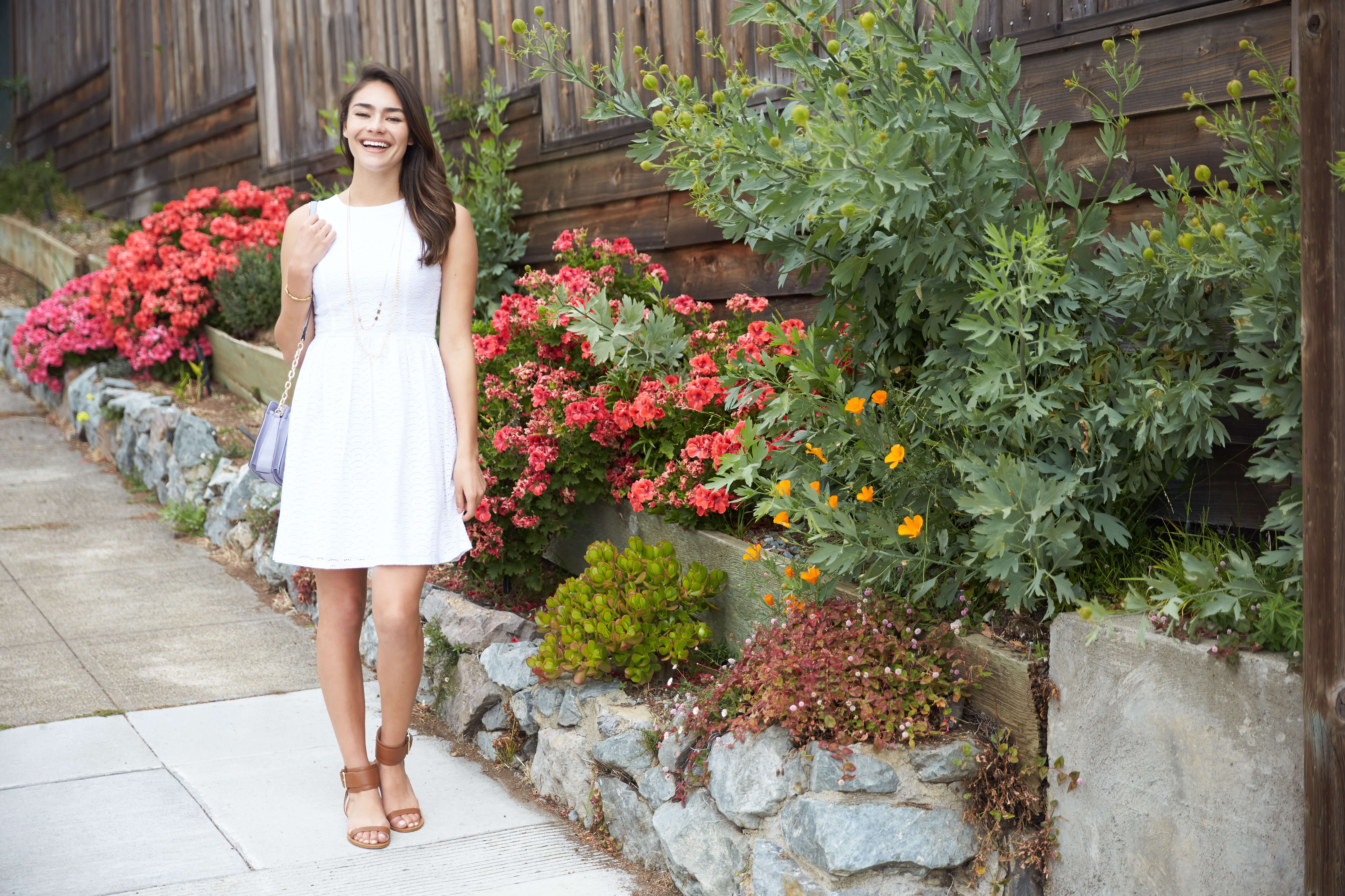 How to Style White Dress