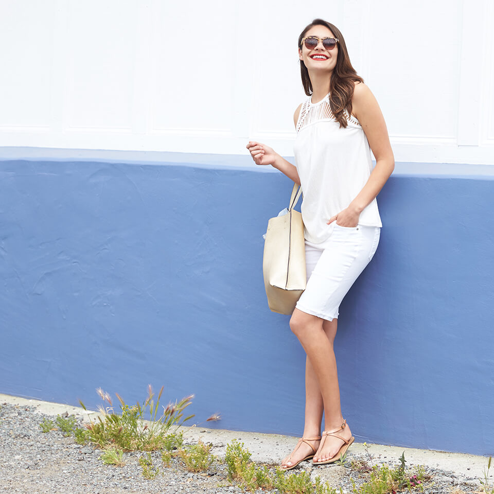 How to Wear White on White