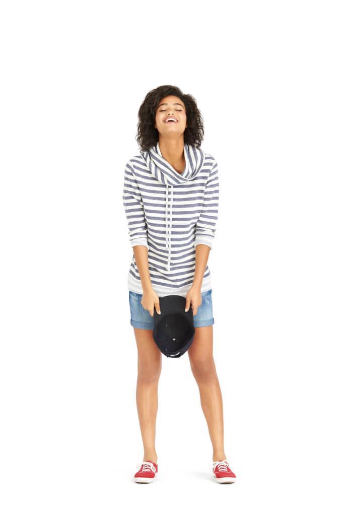 9 Ways to Wear Denim Cutoffs