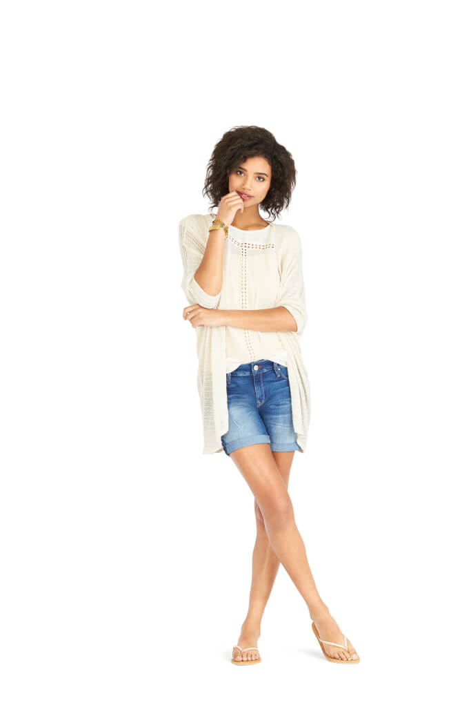 9 Ways to Wear Denim Cutoffs