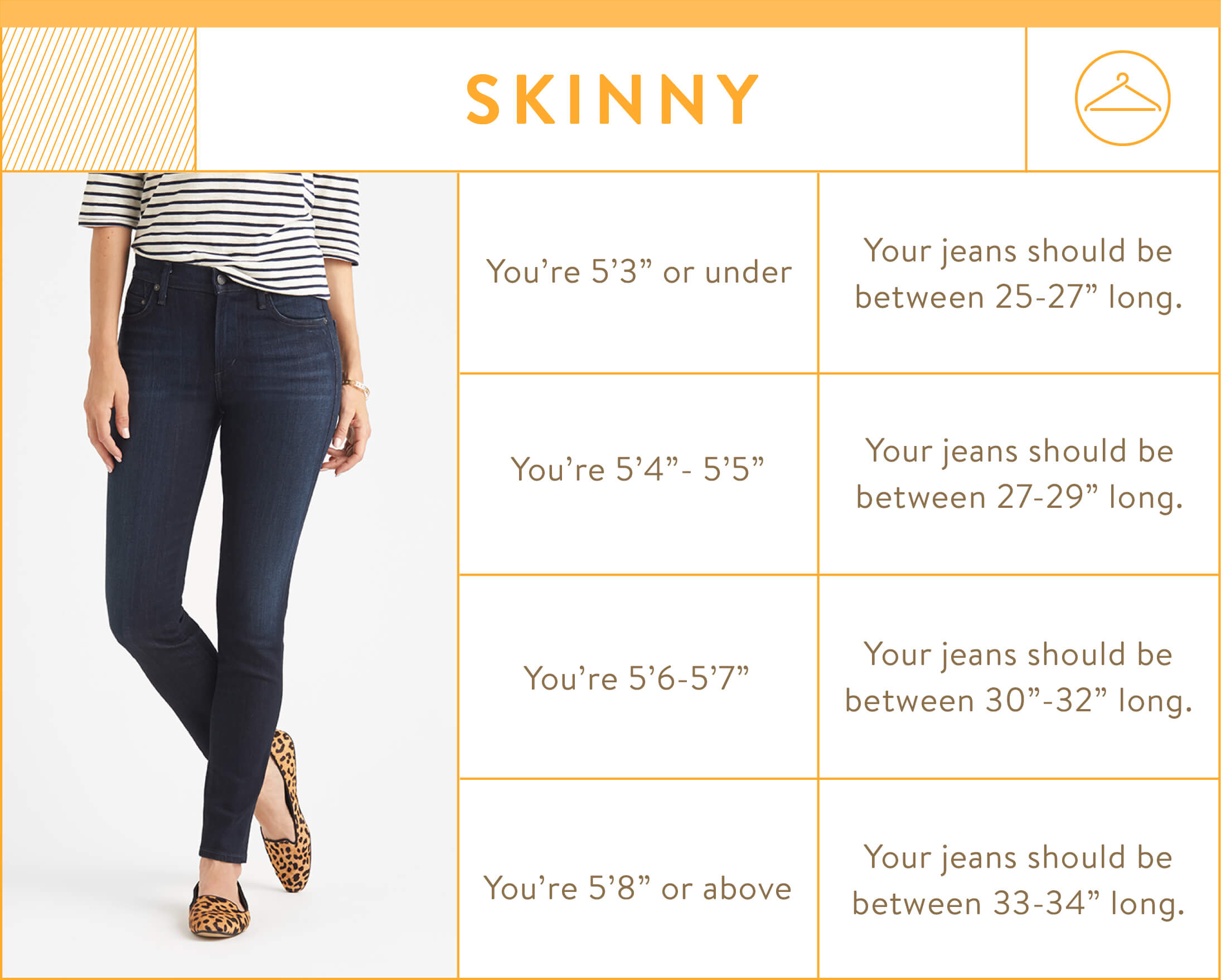 The measurements 7,8, or inches are the height of the front rise of the jean and where they sit on your tummy. Everyone has a unique rise whatever your size or shape. So when you have your jeans on measure from the crotch seam of your jeans up to your belly button. This is .