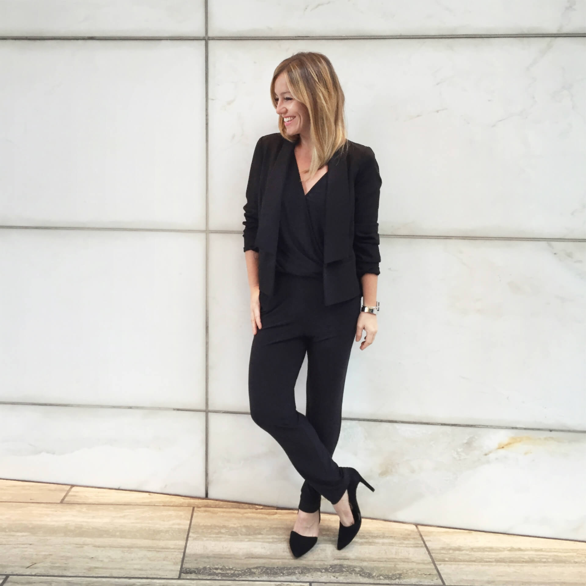 What to Layer over a Jumpsuit