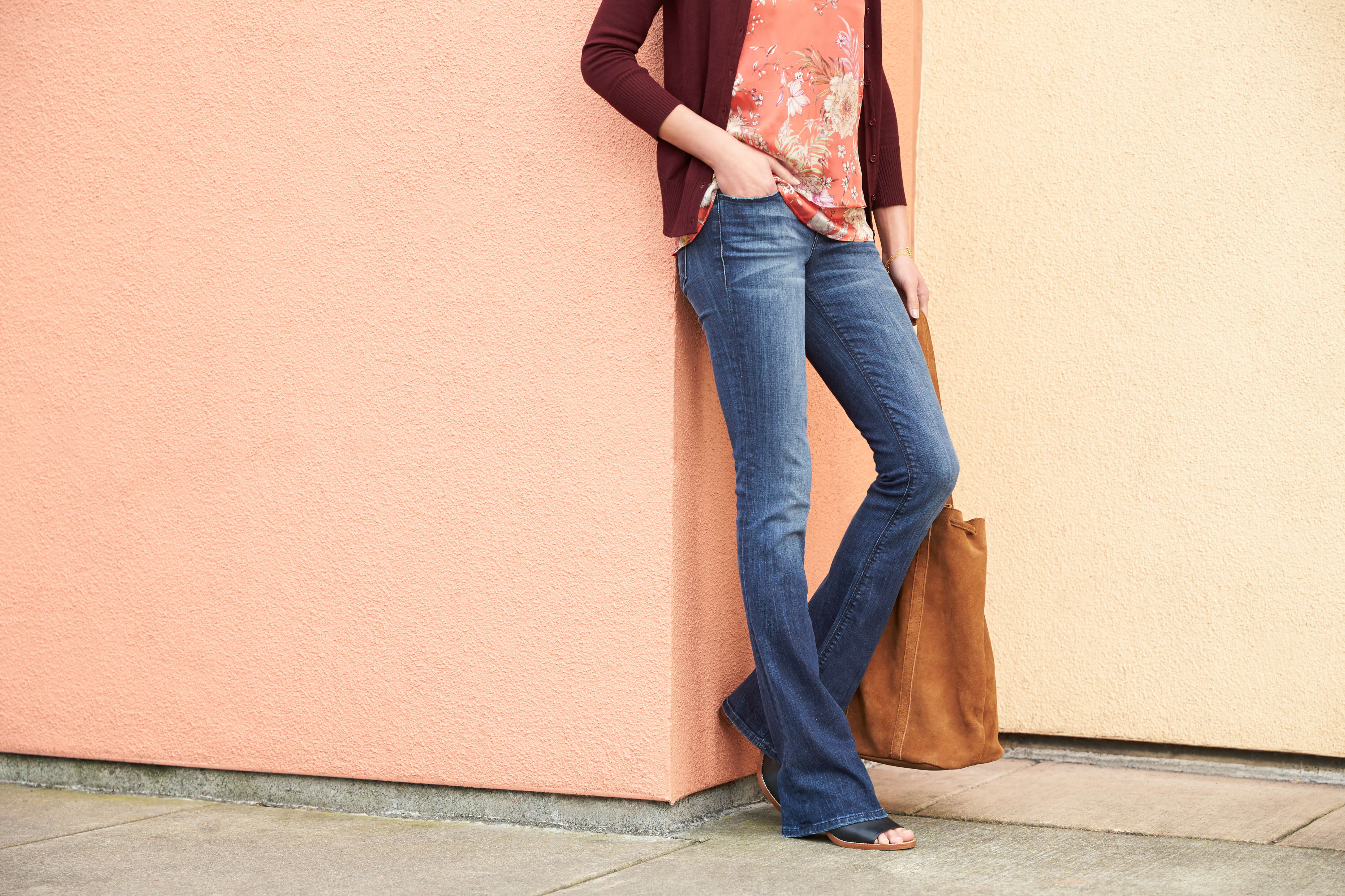 Tops with Flare Jeans