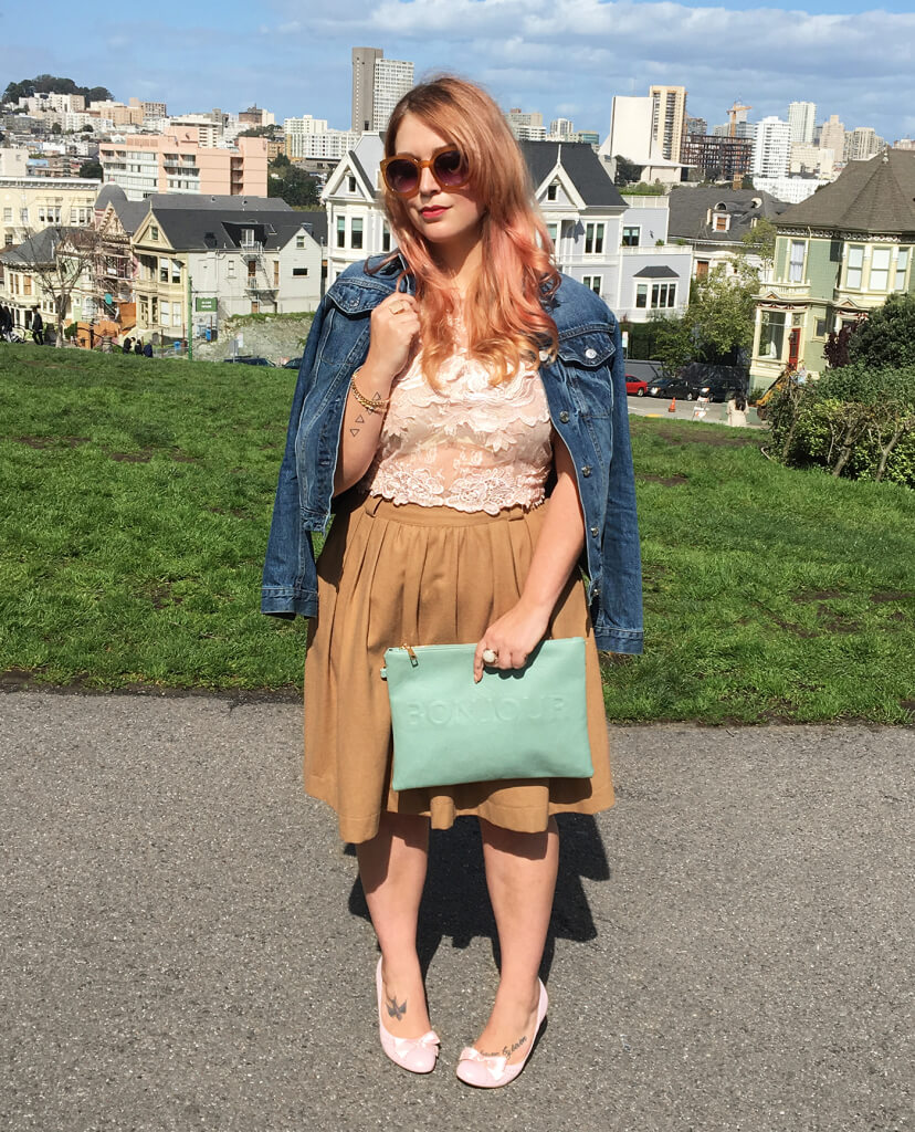 Ever want to know more about your Stylist? Not only do they ooze chicness & fashion know-how, but they're also pretty darn cool. This week, we chat one-on-one with San Francisco Stylist Charlotte M. to get the scoop on what she's listening to, where she gets her inspiration & what she's obsessed with now.