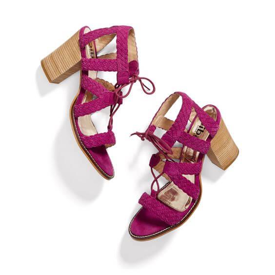Brightly Colored Block Heels