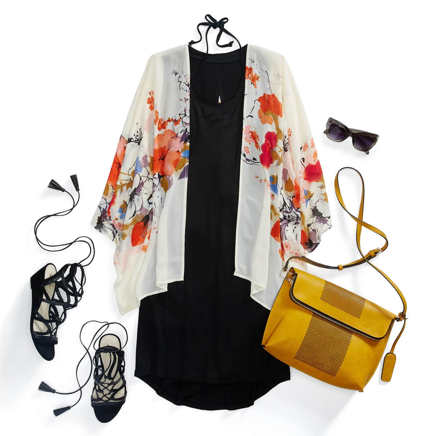 How to Wear Kimono Jacket