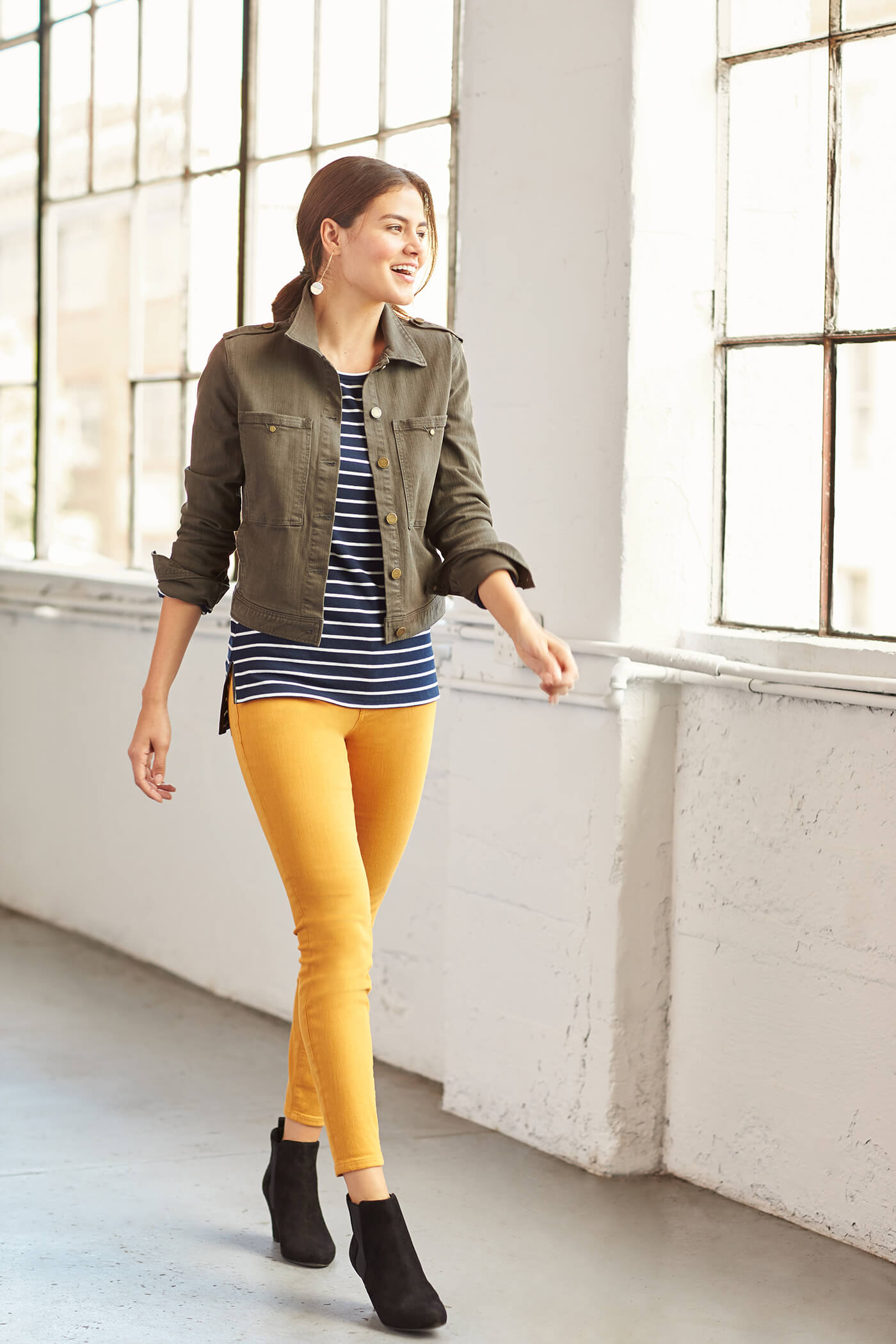 Style a Striped Shirt
