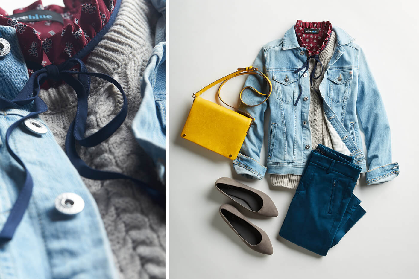 How to Layer with a Jean Jacket