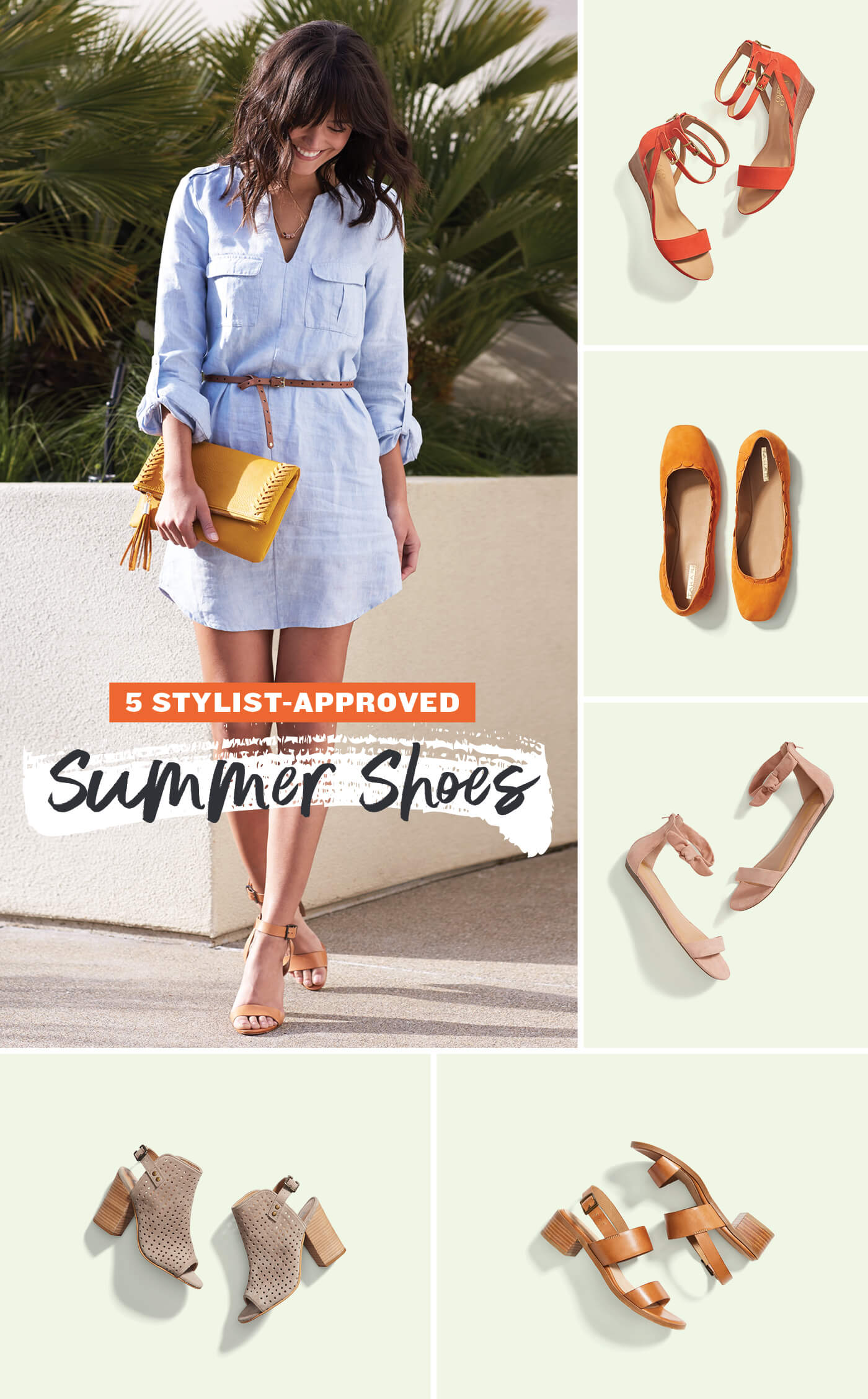 What shoes to wear with sundresses