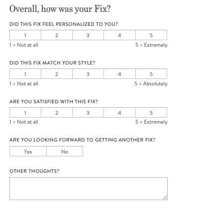 Wardrobe stylist rate sheet
