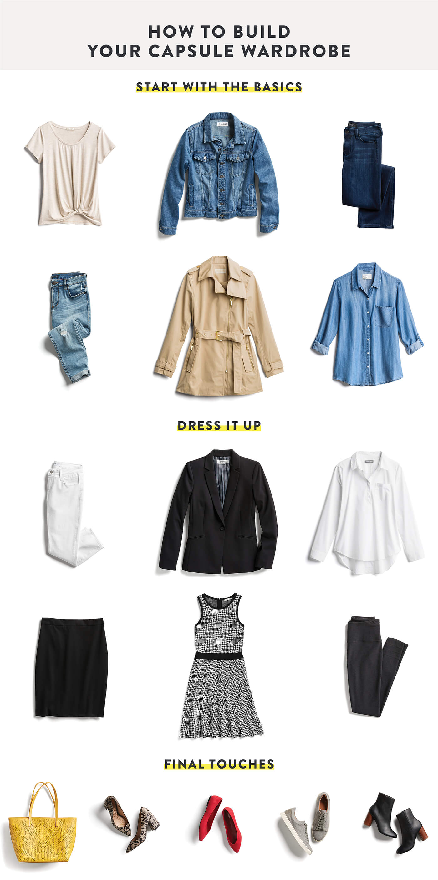 Capsule Wardrobe: WATCH: What's A Capsule Wardrobe? And, How Do You Build