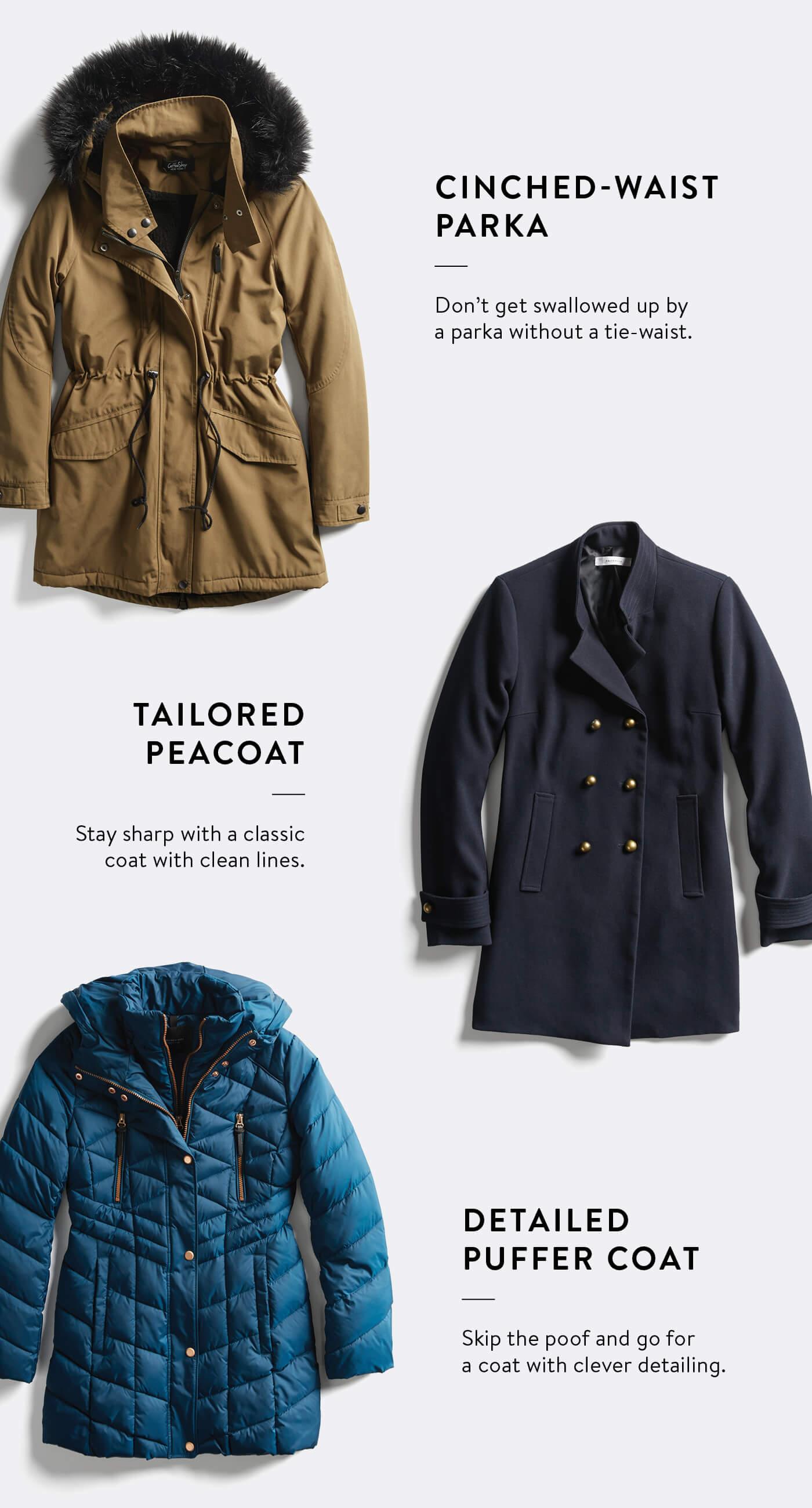 best coats for petite women