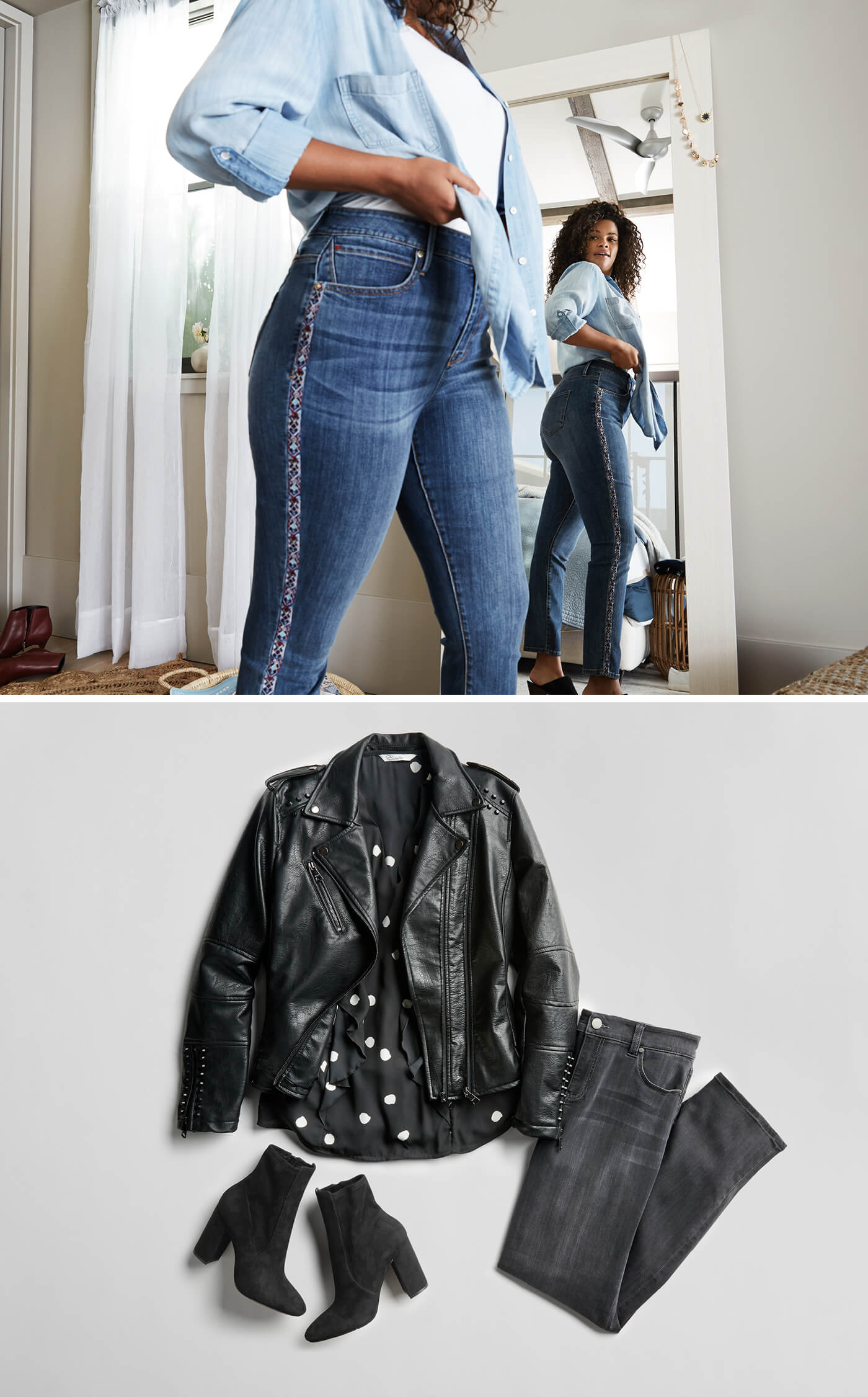3b3d0e6d64 Black. The appeal of black jeans is undeniable-these ...