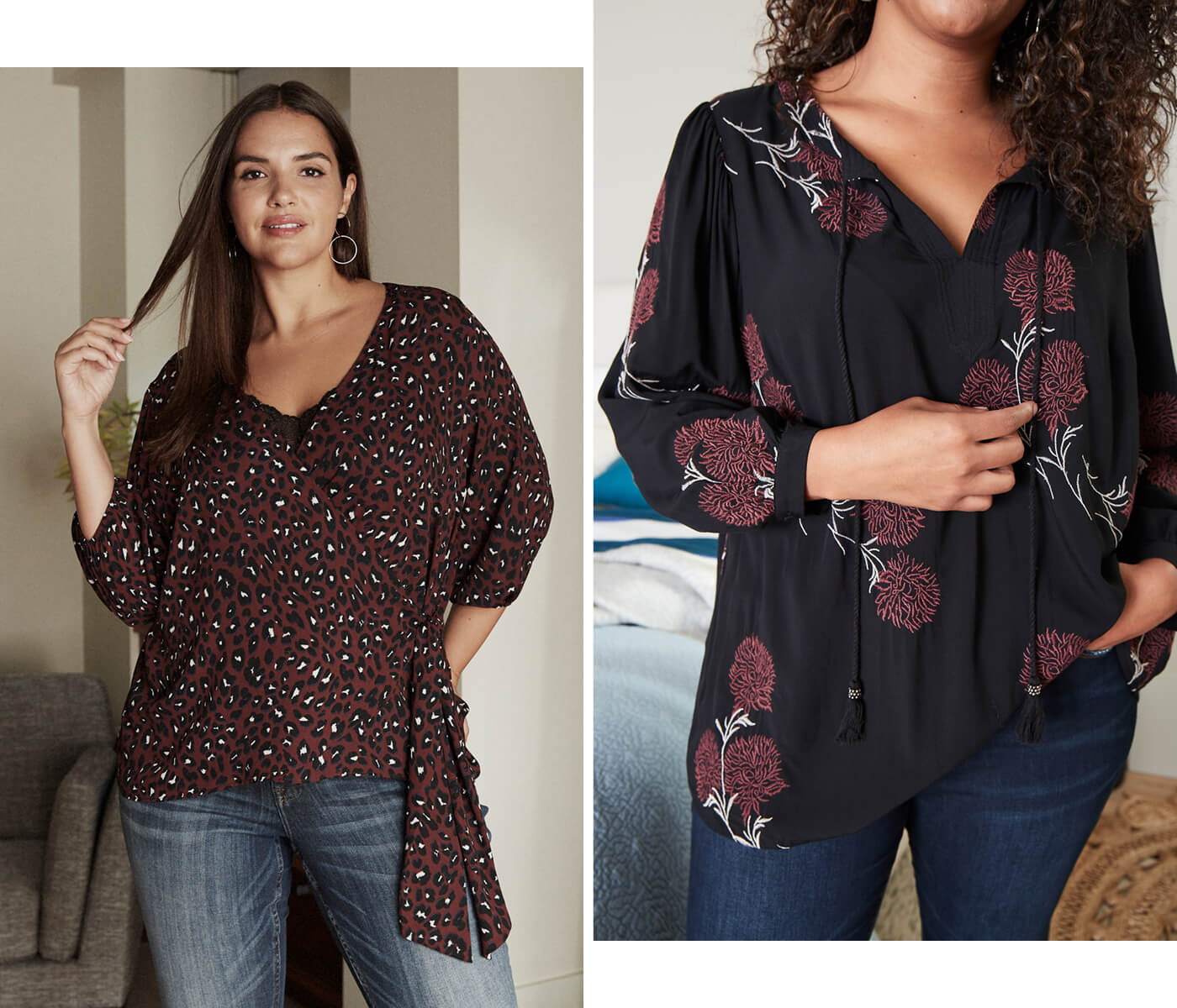 shirts for plus women