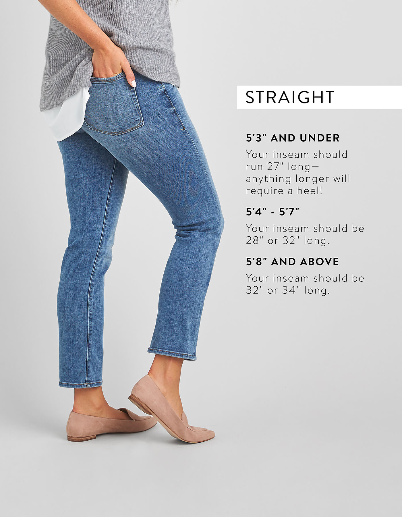 guide to denim inseams, denim inseam guide, denim inseams
